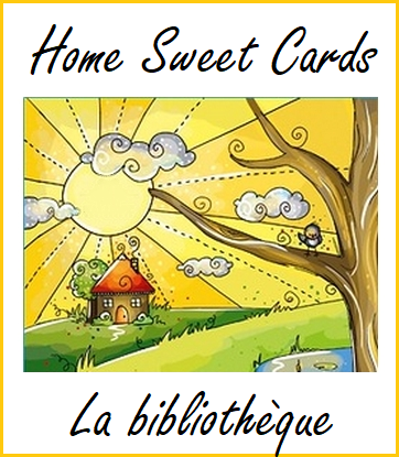 Home Sweet Cards {La Bibliothèque} Biblio11