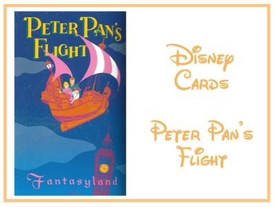Disney Cards {Peter Pan's flight} Encart10