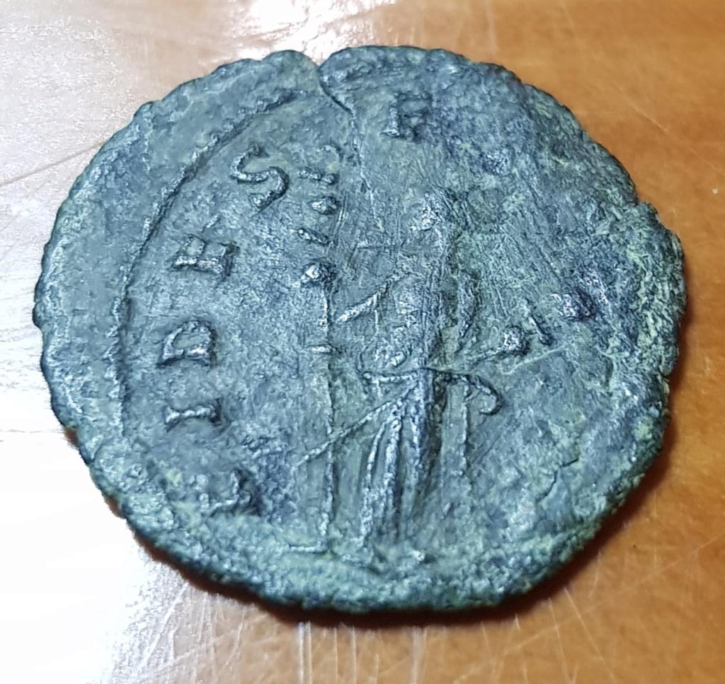 Antoniniano de Claudio II. FIDES EXERCI. Roma 20200519