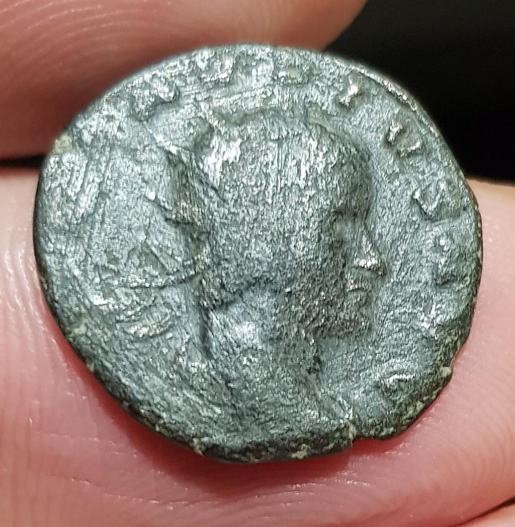Antoniniano de Claudio II. AEQVITAS AVG. Siscia 20200523