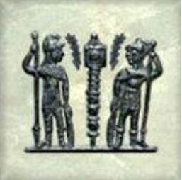 AE4 de Constante I. GLORIA EXERCITVS. Soldados entre 1 estandarte. Nueva_10