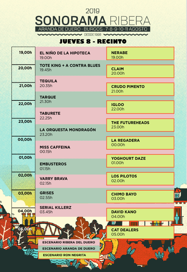 Sonorama 2019 - Página 3 Jueves10