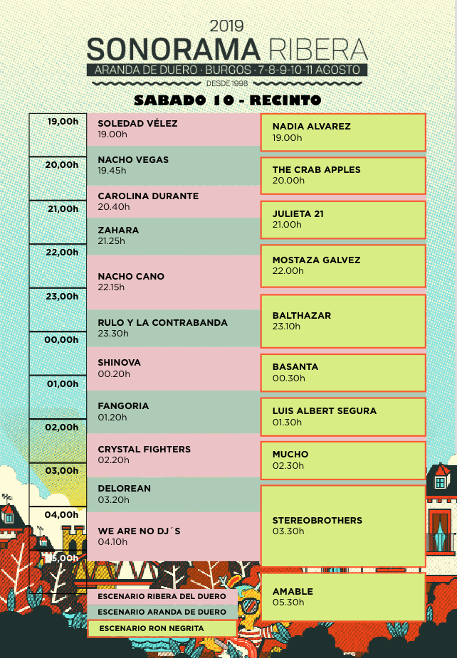 Sonorama 2019 - Página 3 Sabado10