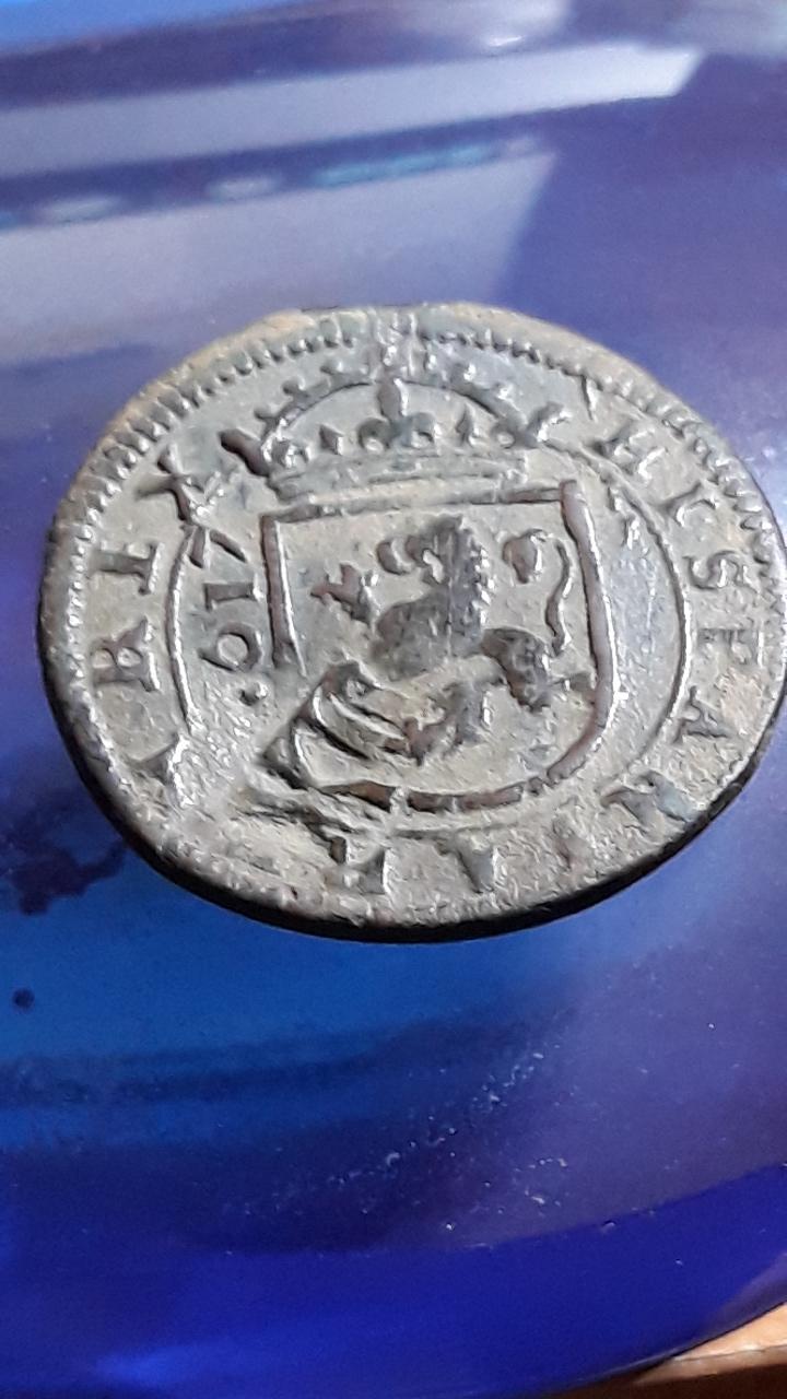 VIII maravedís de Felipe III de Segovia, 1617. 2019-735