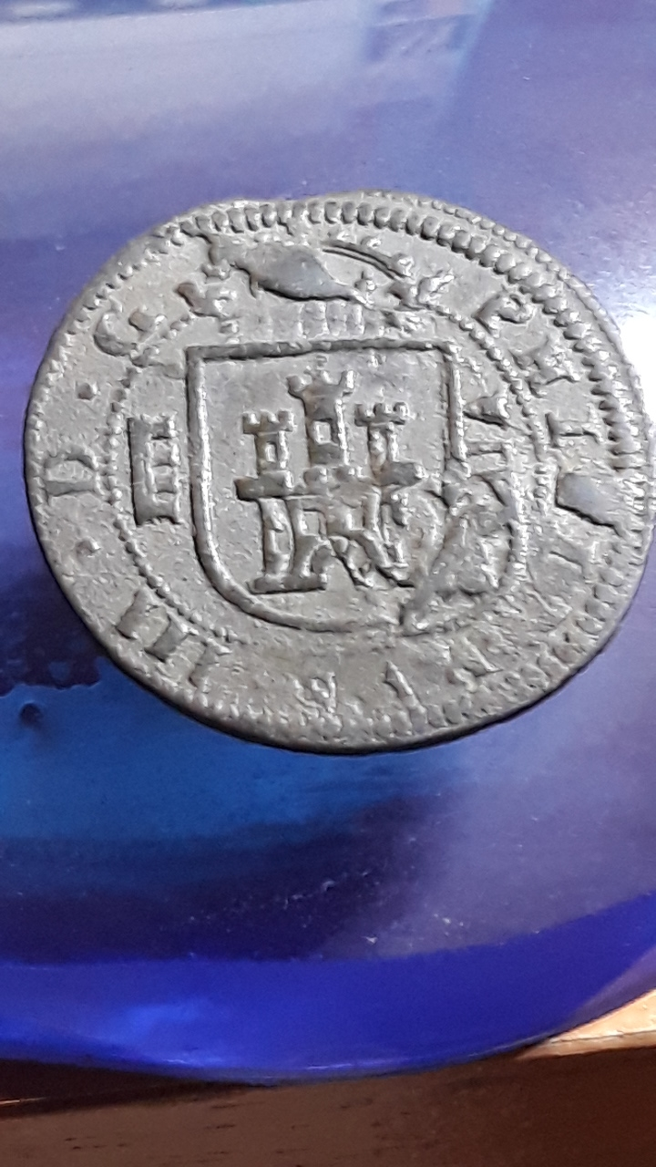 VIII maravedís de Felipe III de Segovia, 1617. 2019-736