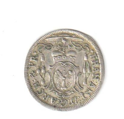 4 kreuzer austriacos de Salzburgo, 1721. Austra10