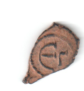Pentanummi de Mauricio Tiberio. Constantinopla 3ª oficina Bizrev11