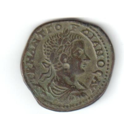 AE26 Provincial de Gordiano III. Adrianópolis, Tracia. Colanv11