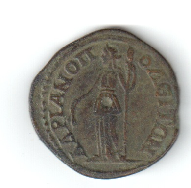 AE26 Provincial de Gordiano III. Adrianópolis, Tracia. Colrev11