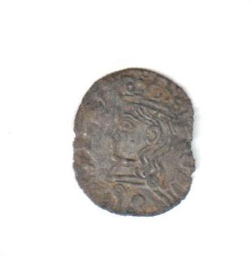 Dinero coronado o cornado de Alfonso XI. Toledo Estrel11