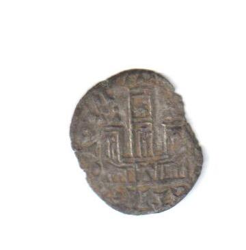 Dinero coronado o cornado de Alfonso XI. Toledo Estrel12