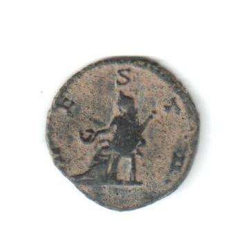 Antoniniano híbrido de Galieno. VESTA. Roma Galien11