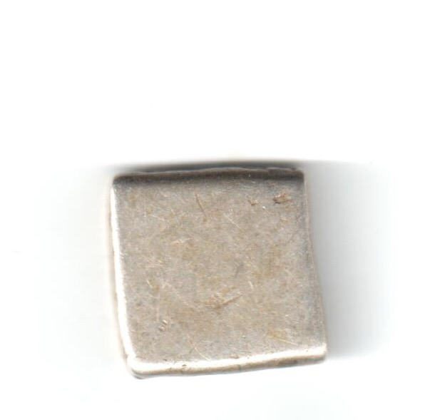 Karshapana Imperio Mauryan. Series Va sin marcas 'bold' en el reverso, G/H 507-508 Mauryr10