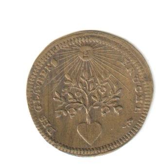Jetón de Nuremberg. s. XVIII Mezcan10