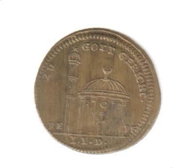 Jetón de Nuremberg. s. XVIII Mezcre10