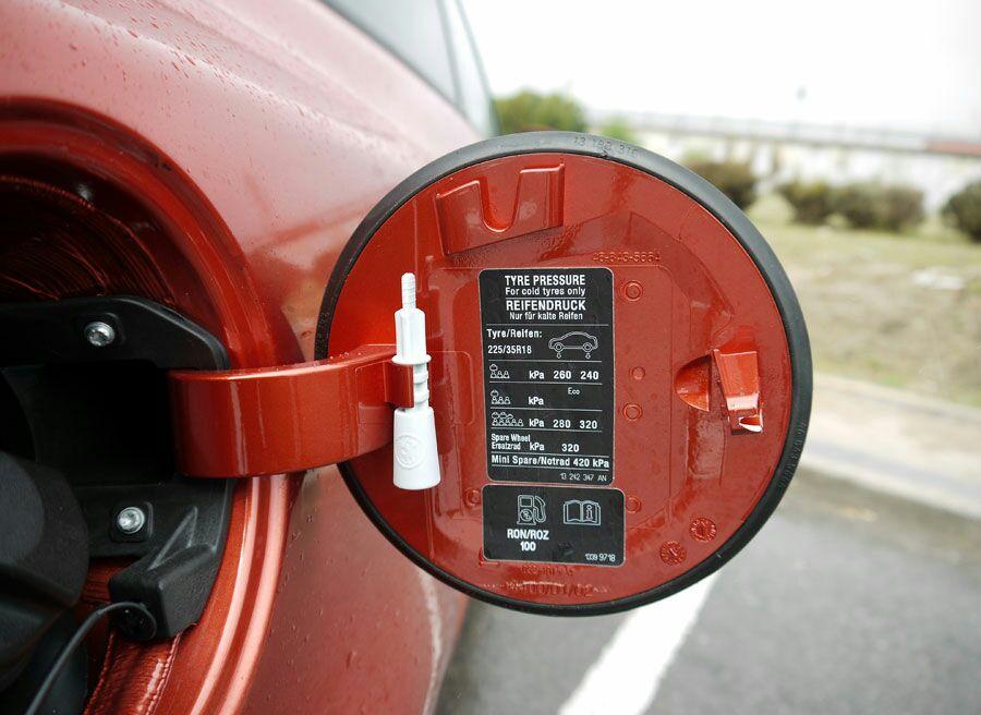 """Presión de neumáticos en """"ECO"""" Img-2010"""