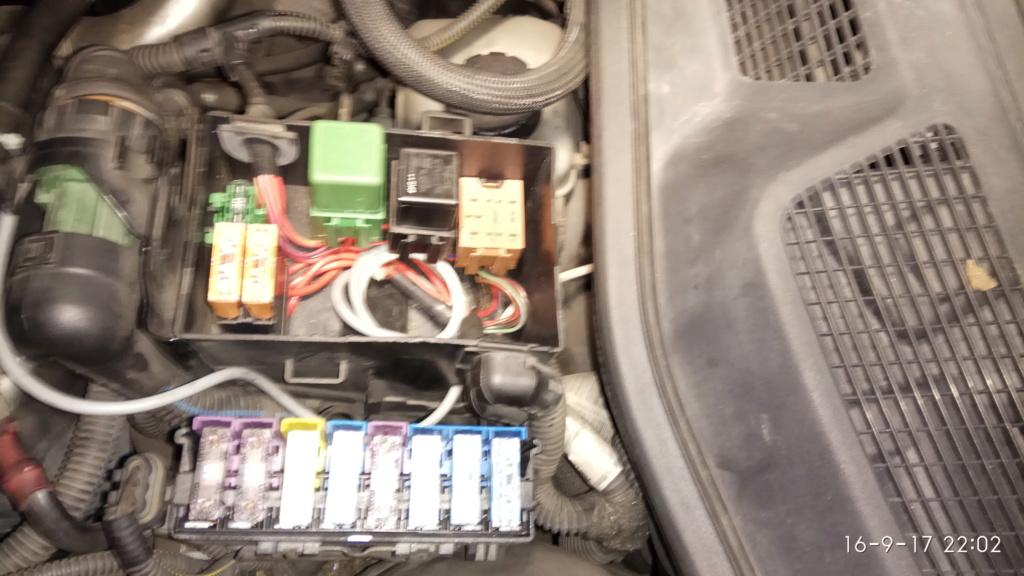 Brico - instalación de pulsador para forzar encendido de calentadores en 2.0dti - cuando no arranca - Y20DTH Img_2084