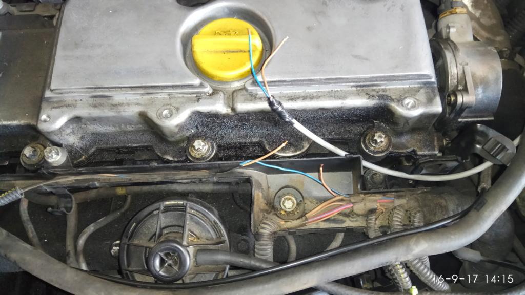 Brico - instalación de pulsador para forzar encendido de calentadores en 2.0dti - cuando no arranca - Y20DTH Img_2089