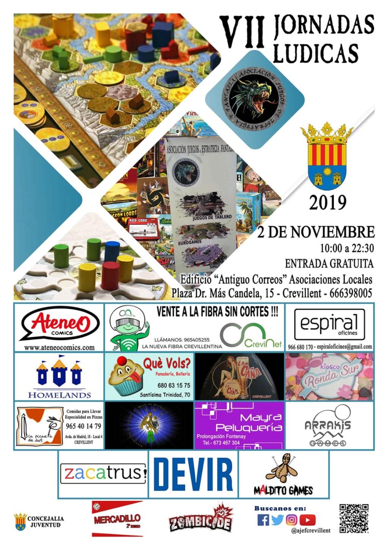 VII Jornadas Ludicas de Crevillente (Sábado 2 de Noviembre 2019)  Img-2013