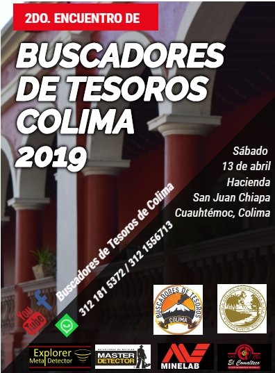 2DO ENCUENTRO DE BUSCADORES DE TESOROS COLIMA 2019 Patroc10