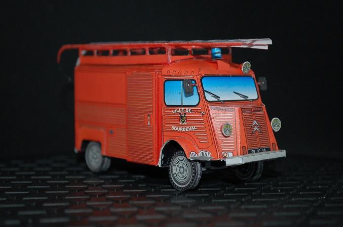 """Citroën H """"Sapeurs Pompiers de Sourdeval"""" Sourde16"""