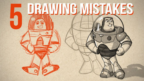 Top 5 Drawing Mistakes(Top 5, Errores al dibujar) Profesor PROKO Maxres10