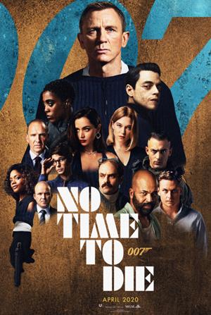 James Bond: No time to die 2021 No-tim10