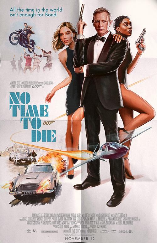 James Bond: No time to die 2021 No_tim10