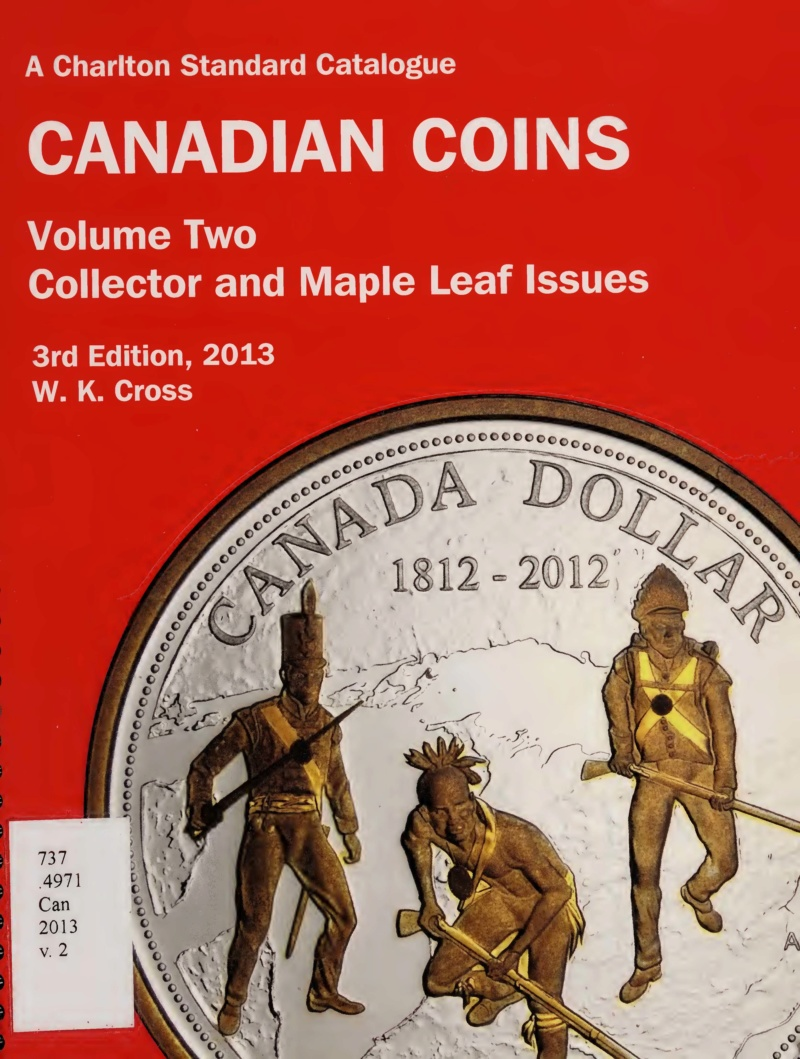 Charlton Standard Catalogue, Canadian Coins, 2013.  Charlt10