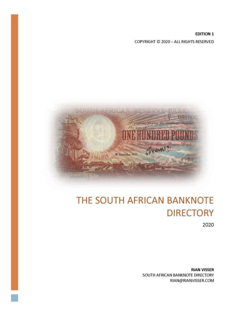 South African Banknote Directory Direct10