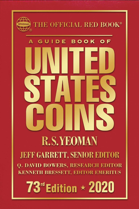 A Guide Book uf United States Coins R.S. Yeoman 73rd edition 2020 Screen10