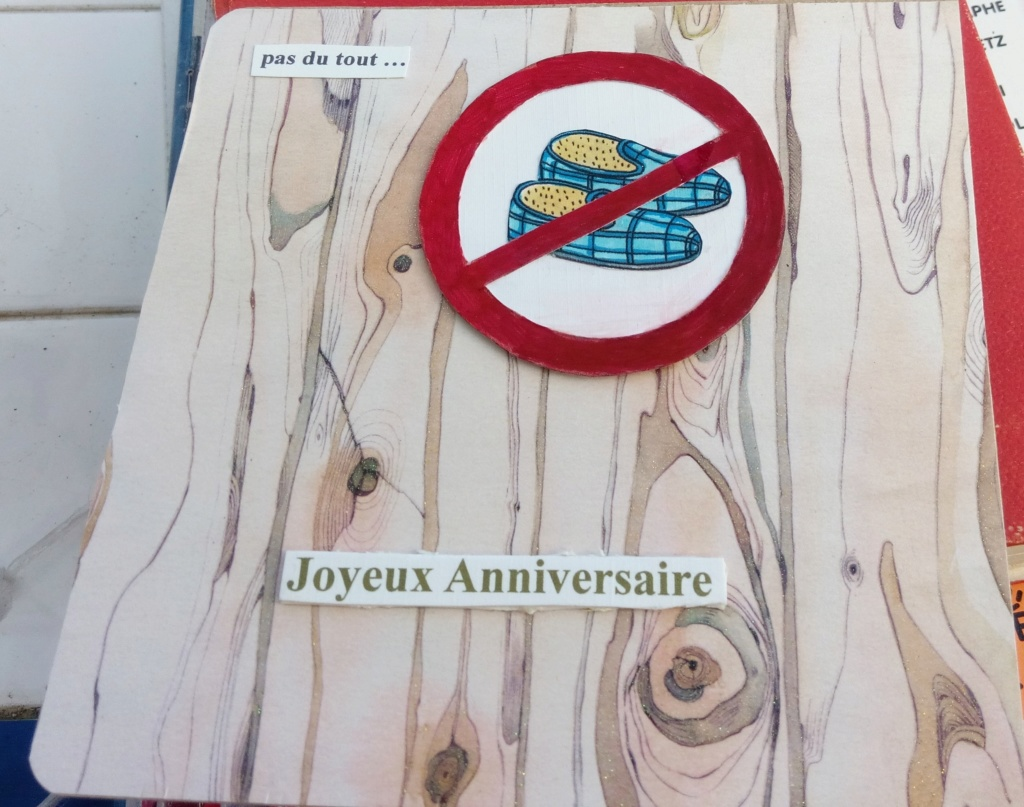 Carte anniversaire Dédé Annivd10