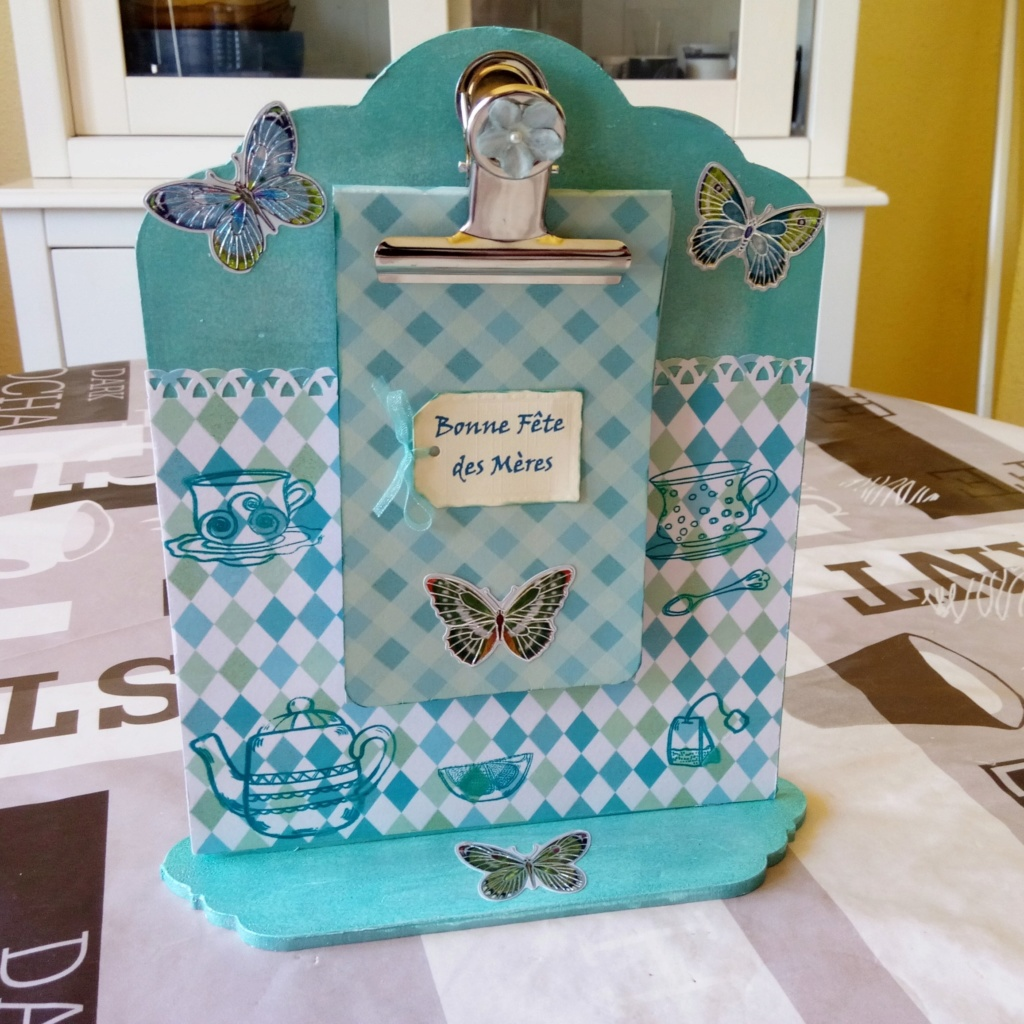 """kits bloc note action fête des mères """" thé et papillons"""" Img_2080"""