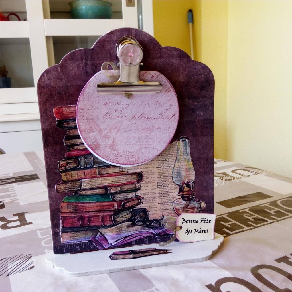"""kits bloc note action fête des mères """" livres"""" Img_2081"""