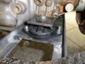Câmbio Hilux 3.0 mecânica no Opala Sam_0813