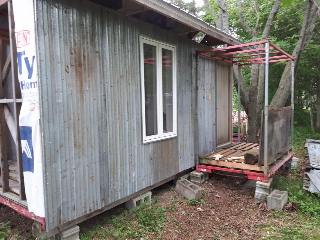 Construction de ma cabane  20180611