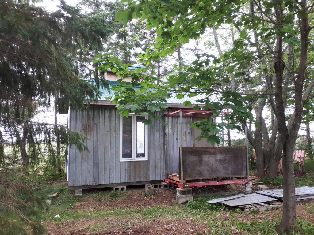 Construction de ma cabane  20180612
