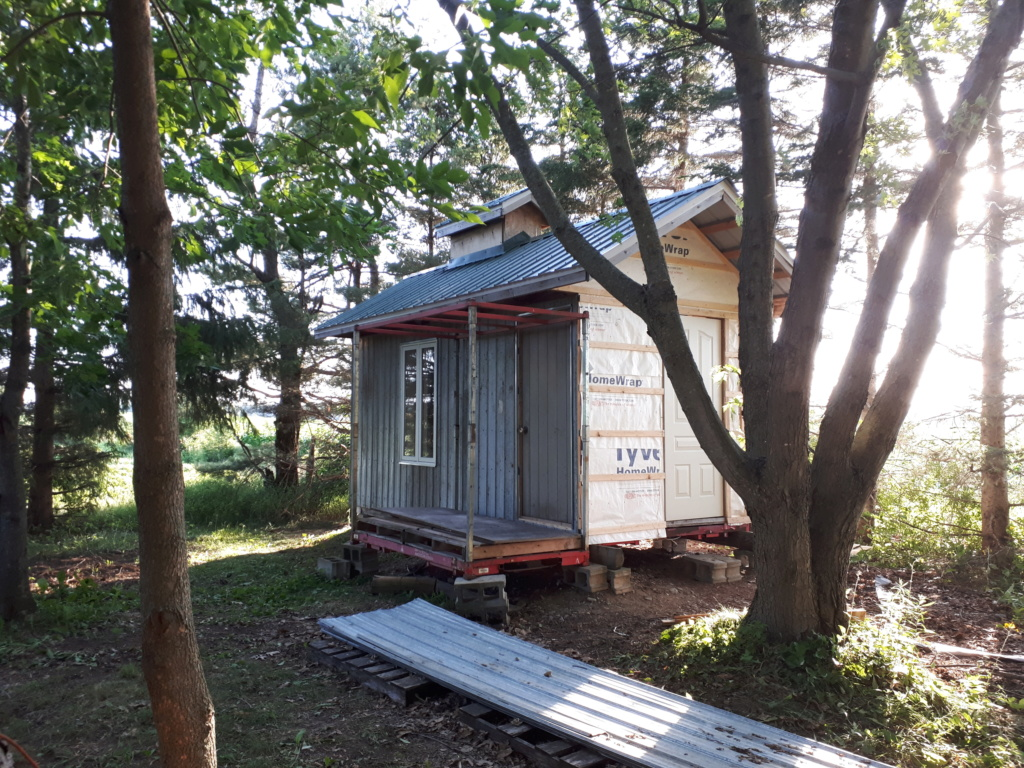 Construction de ma cabane  20180710