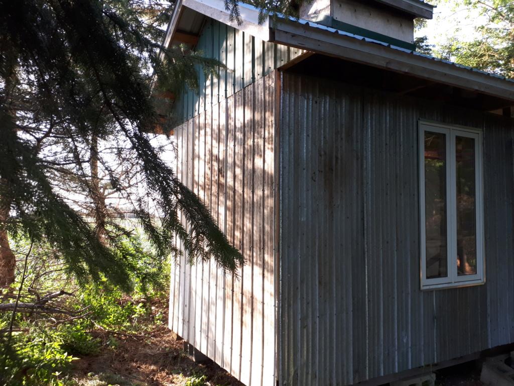 Construction de ma cabane  20180711