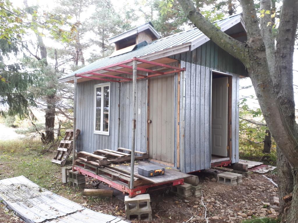 Construction de ma cabane  20181010