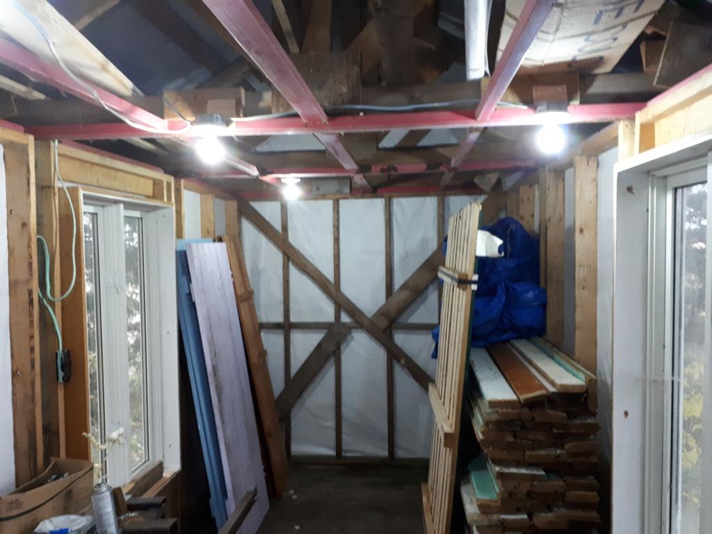 Construction de ma cabane  20181011