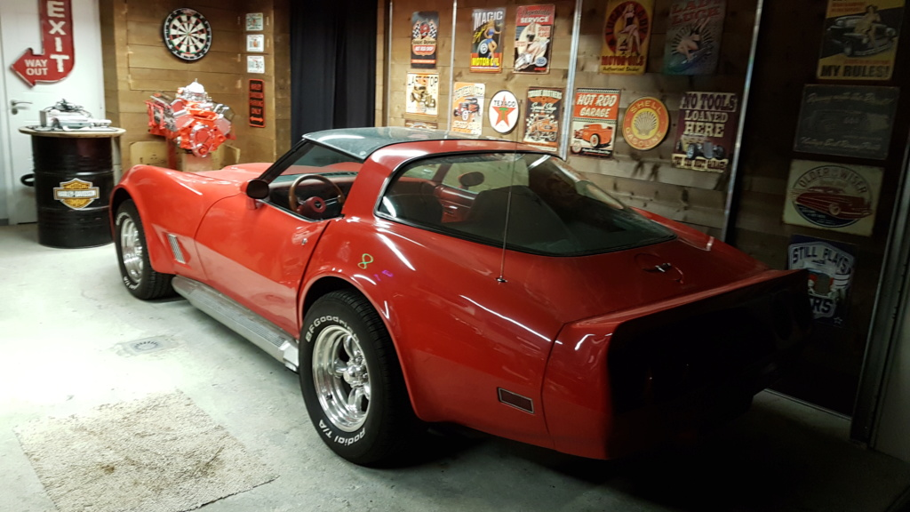 Restauration totale CHEVROLET CORVETTE STINGRAY 1972 Chris 20190122