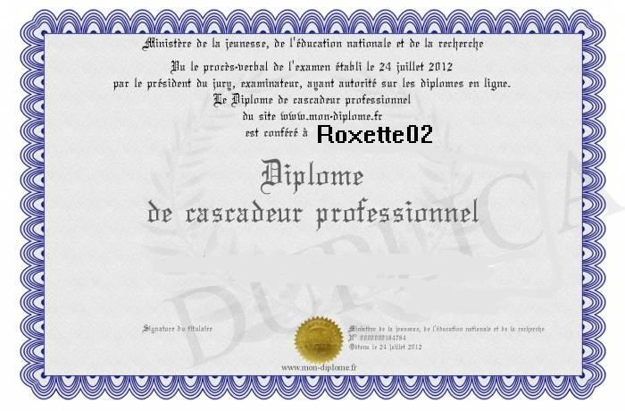 Remise de diplôme a Roxette02  Roro12