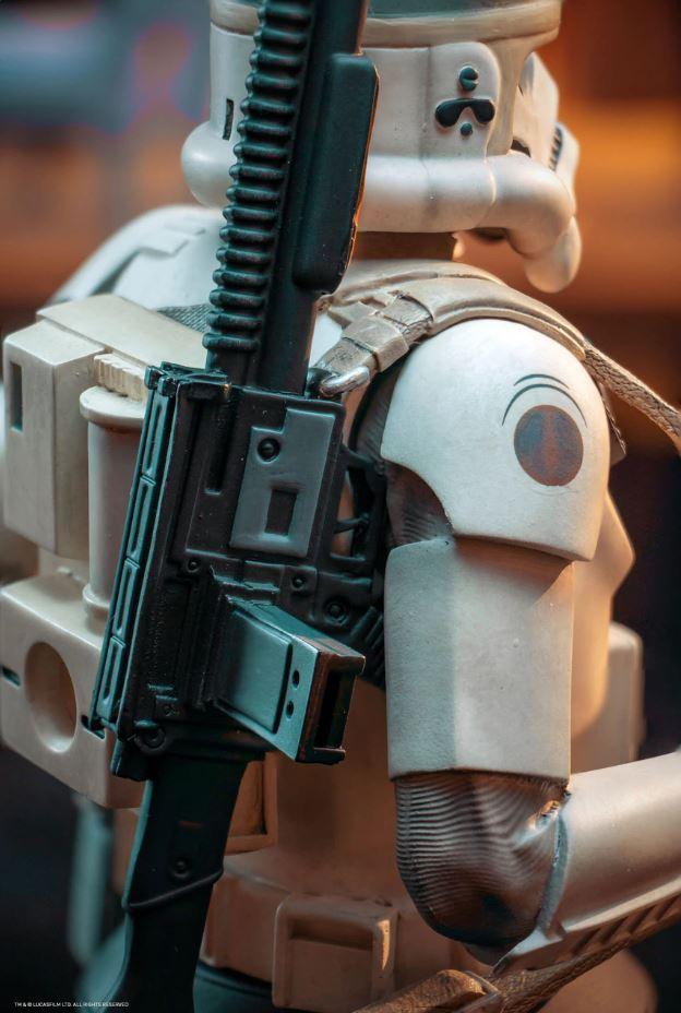 STAR WARS CONCEPT SANDTROOPER MINI BUST Sanrtr16