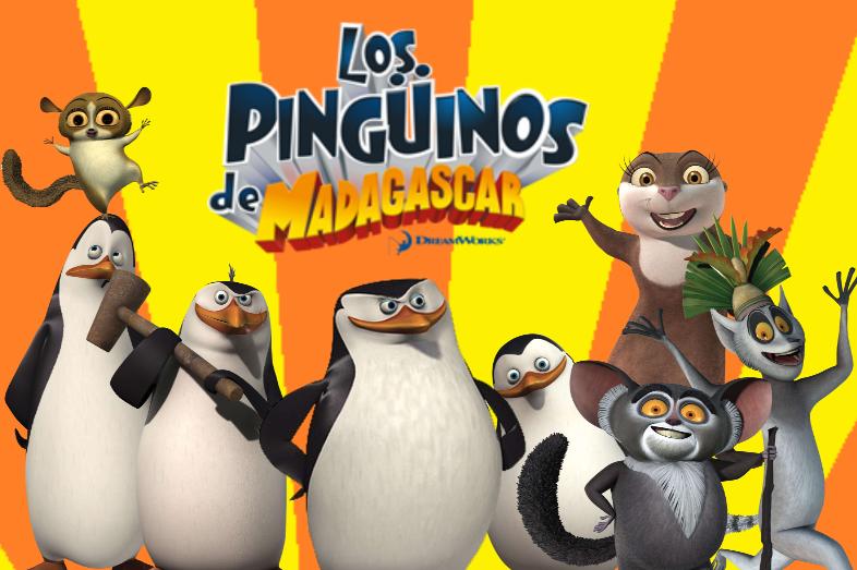 Los pingüinos de Madagascar | S02 | Lat-Ing | 1080p | x264 Pingui10