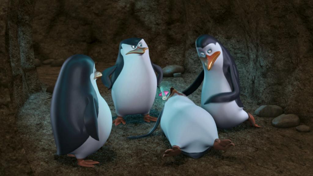 Los pingüinos de Madagascar | S02 | Lat-Ing | 1080p | x264 Vlcsna77