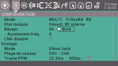 module multi-protocole IRANGEX et écolage sans fil Captur10