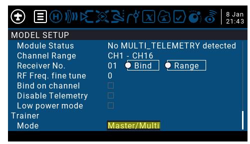 module multi-protocole IRANGEX et écolage sans fil Opera_11