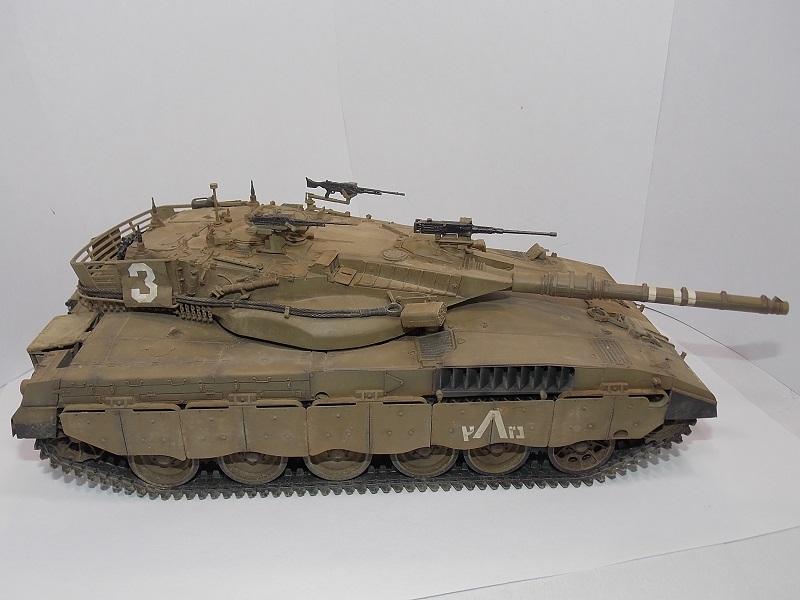 Merkava Mk.1 Hybrid. ТАКОМ, 1\35. Dscn5096