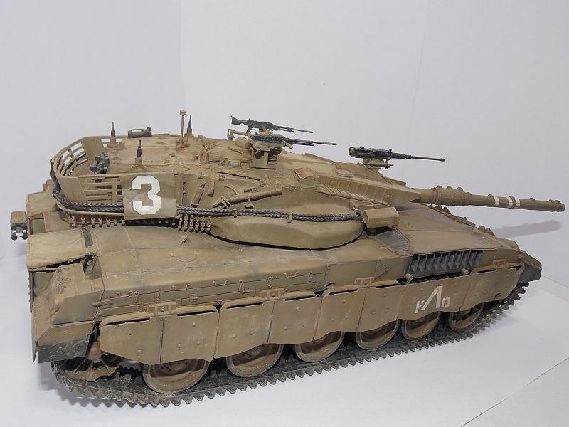 Merkava Mk.1 Hybrid. ТАКОМ, 1\35. Dscn5098